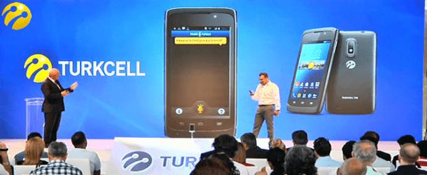 Turkcell İlk Yerli Telefonu Tanıttı