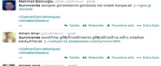Twitter'da 'Survivor' Virüsü