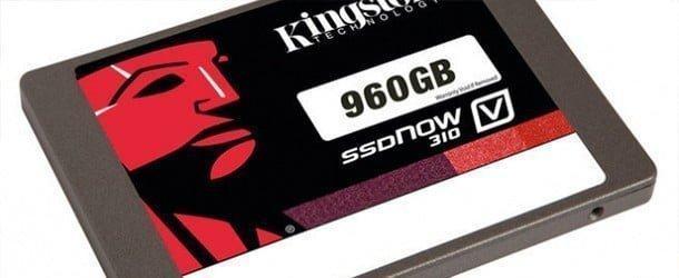 Kingston 960 GB'lık SSD'sini tanıttı