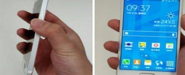Samsung'dan iPhone gibi telefon !