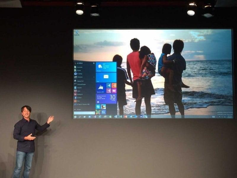 Windows 10 Duyuruldu !