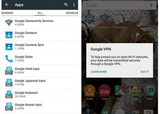 Google VPN Geliyor