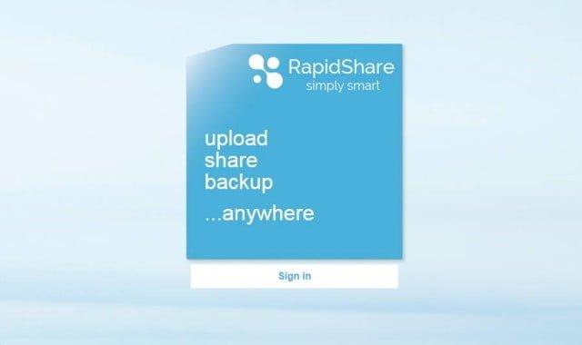 RapidShare Kapanıyor