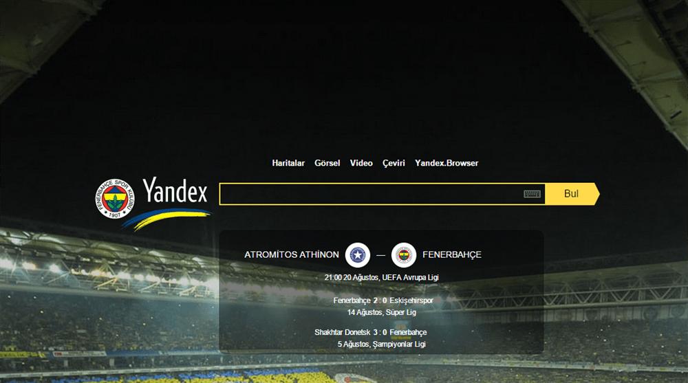 Fenerbahçe-Yandex Rekora Koşuyor