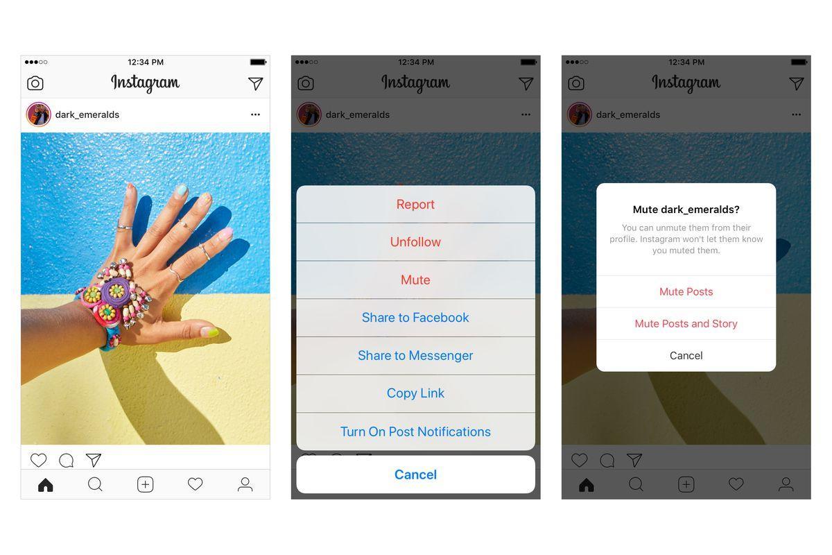 Instagram'da kişi nasıl sessize alınır ?