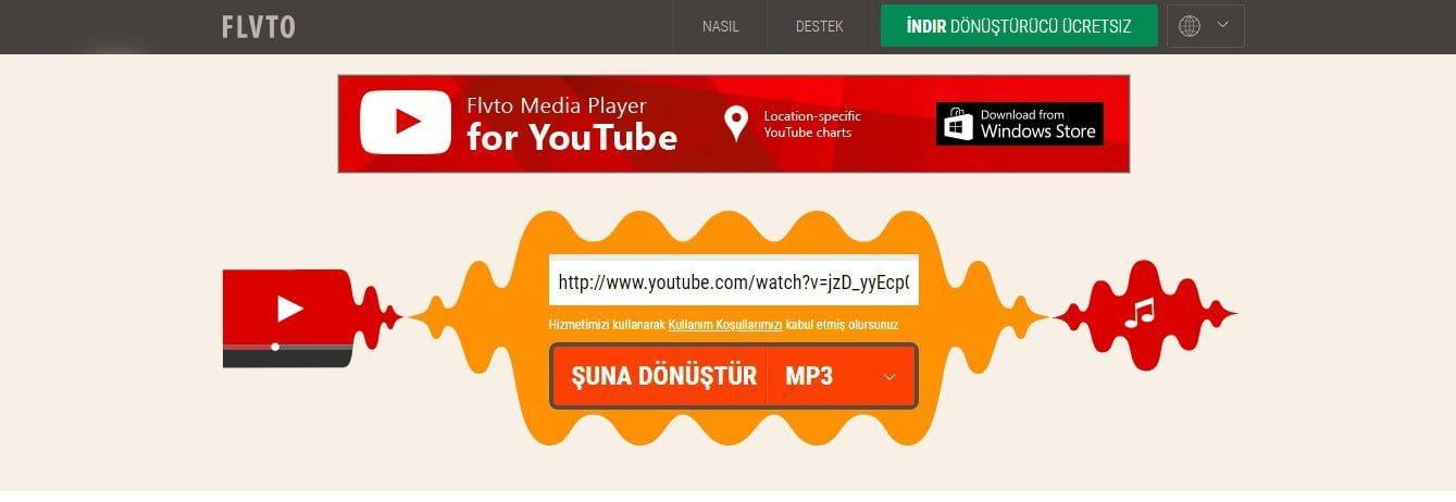 YouTube videoları MP3 olarak nasıl indirilir ?