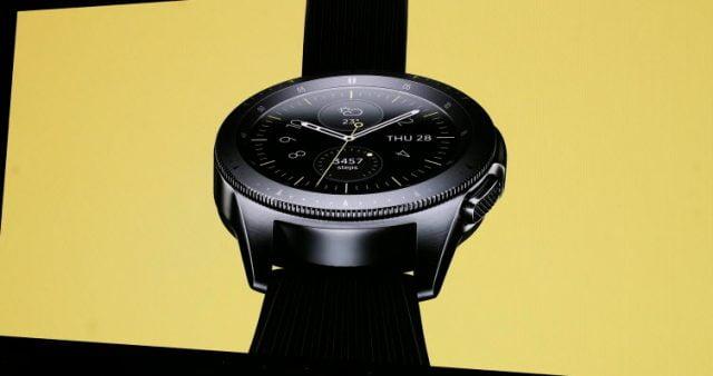 Samsung'tan yeni akıllı saat: Galaxy Watch