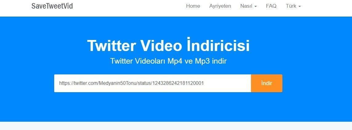 Twitter video indirme işlemi nasıl yapılır ?