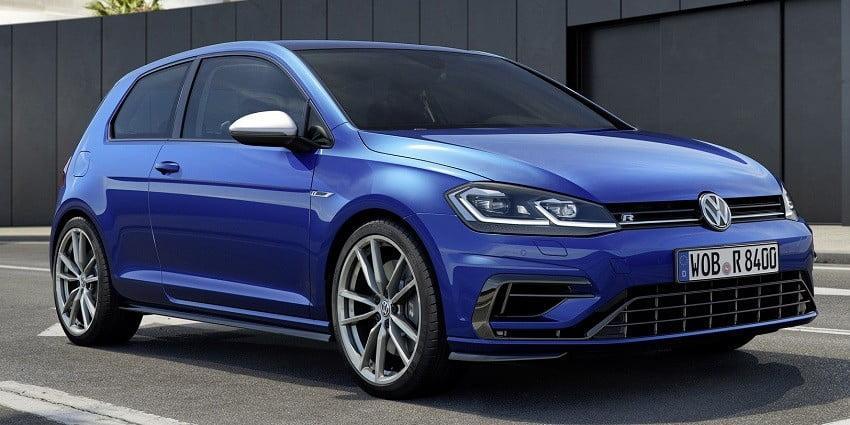 2021 Volkswagen Golf R'ye ait görüntüler yayınlandı