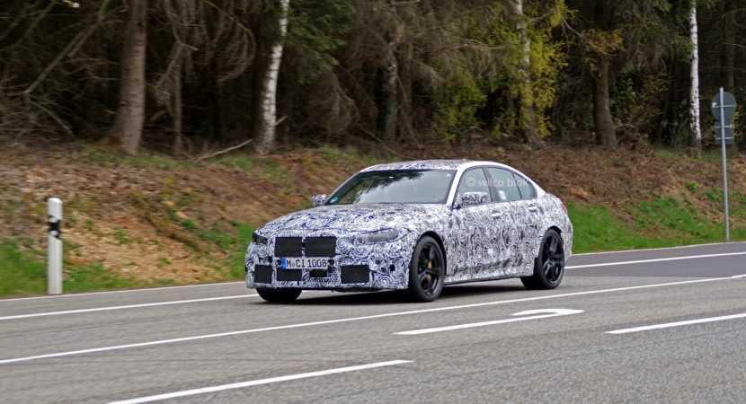 2021 BMW G80 M3 pistlerde boy gösterdi!