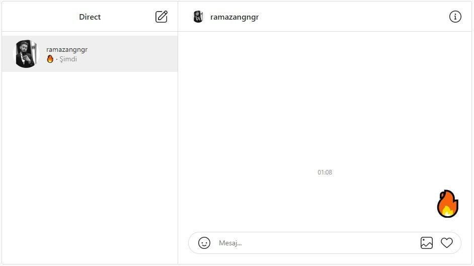 Instagram masaüstüne DM özelliği geldi!