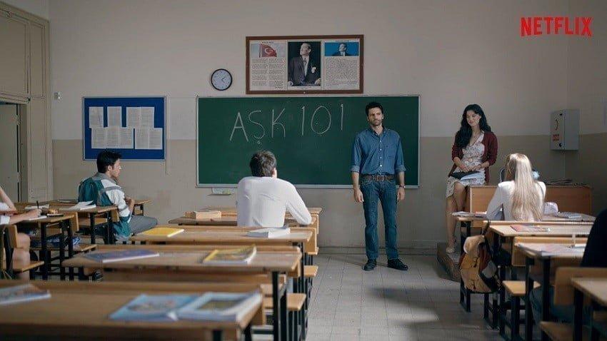 Netflix'in orijinal Türk dizisi Aşk 101 yayında!