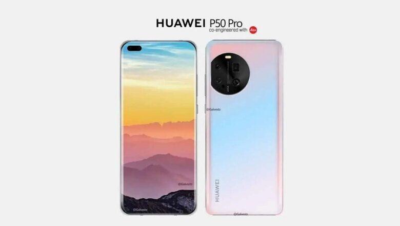 Huawei P50 Pro'nun Tasarımı Ortaya Çıktı!
