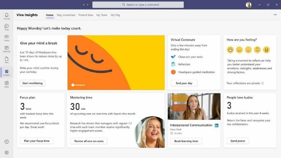 Microsoft'tan Uzaktan Çalışmayı Kolaylaştıran Platform: Viva