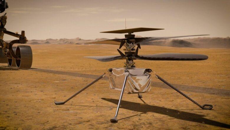 NASA'nın Mars Helikopterinin Uçuşu Ertelendi