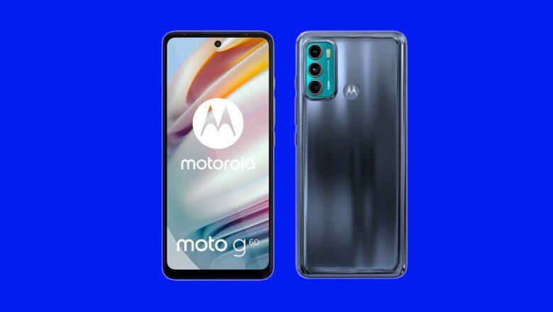Motorola Moto G60 ve G40 Fusion'un Detayları Belli Oldu